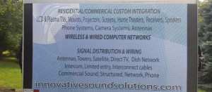 Inovatice Sound Solutions Sign