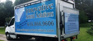 Innovative sound solutions service truck