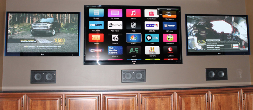 Commercial Sound and TV Installation
