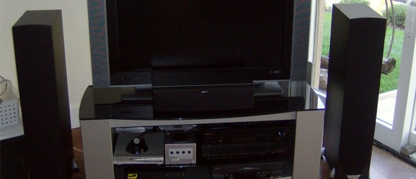 A/V Service & Repair Work Example