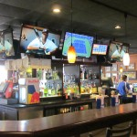 Conference rooms and sports bar installed