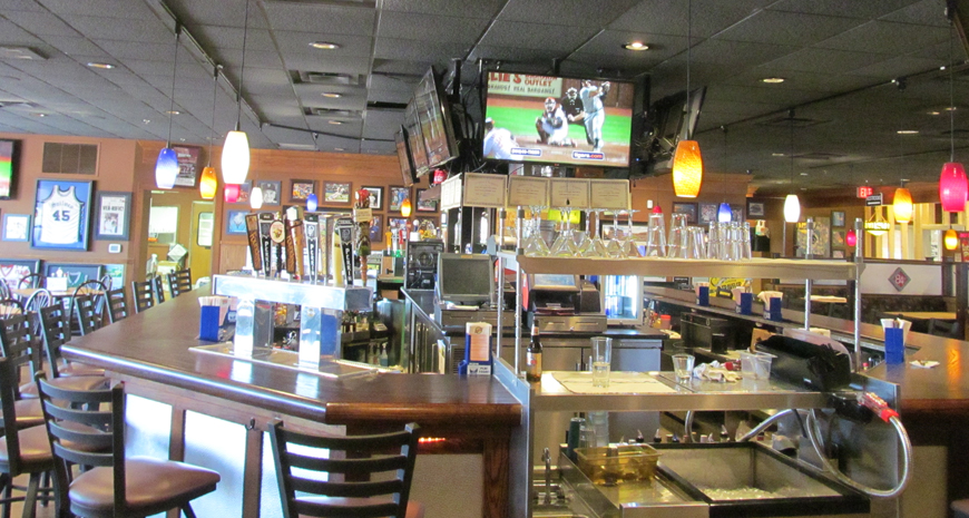 brand new TVs as part of a remodel for the 84th St. Pub.